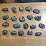 Mindfulness Stones - The Mandala Lady - Mandala Meditation Stones